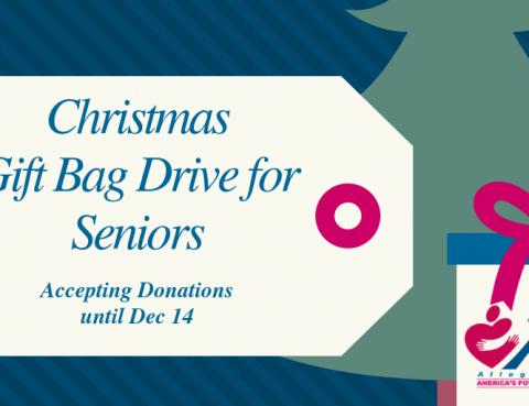 Christmas Drive for Seniors 2018
