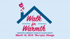 Community Action of Allegan County Walk for Warmth March 16, 2019