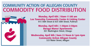 Free Food in Allegan County