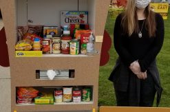 Autumn and her food pantry